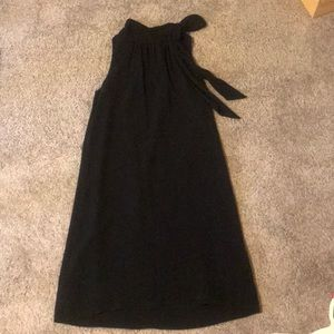 Ann Taylor tie neck shift dress